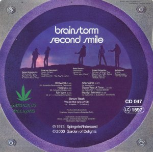 Brainstorm_Second smile_krautrock