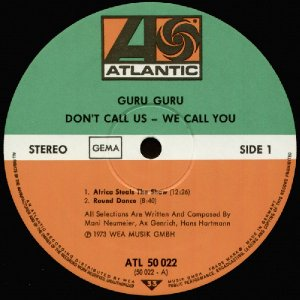 Guru Guru_Don't call us, we call you_krautrock