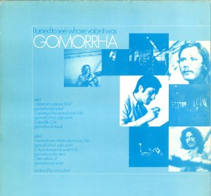 Gomorrha_I turned to see whose voice it was_krautrock