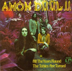 Amon D��l II_All the years round / The tables are turned (singl_krautrock