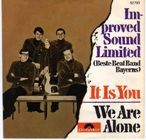 Improved Sound Limited_It is you / We are alone (single)_krautrock