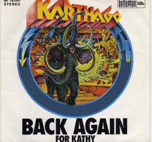 Karthago_Back again / For Kathy (single)_krautrock