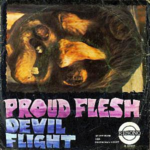 Proud Flesh_Blind / Devil Flight (single)_krautrock