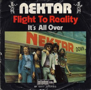 Nektar_Flight to reality / It's all over (single)_krautrock