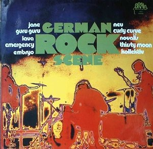 Various - Sampler_German Rock Scene_krautrock