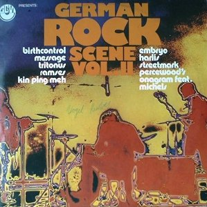 Various - Sampler_German Rock Scene Vol. II_krautrock
