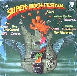 Various - Sampler_Super-Rock-Festival Vol. 2 (2LP)_krautrock