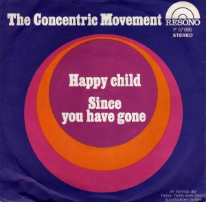 Concentric Movement_Happy child / Since you have gone_krautrock
