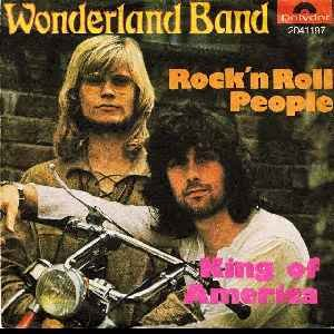 Wonderland Band_Rock'n Roll People / King Of America_krautrock