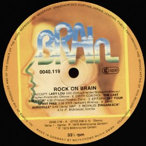 Various - Sampler_Rock on Brain_krautrock