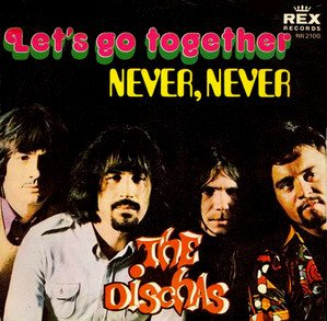 Dischas_Let's get together / Never never_krautrock
