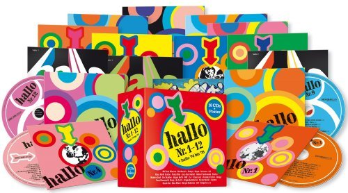 Various - Sampler_Hallo Die 16 CD - Box_krautrock
